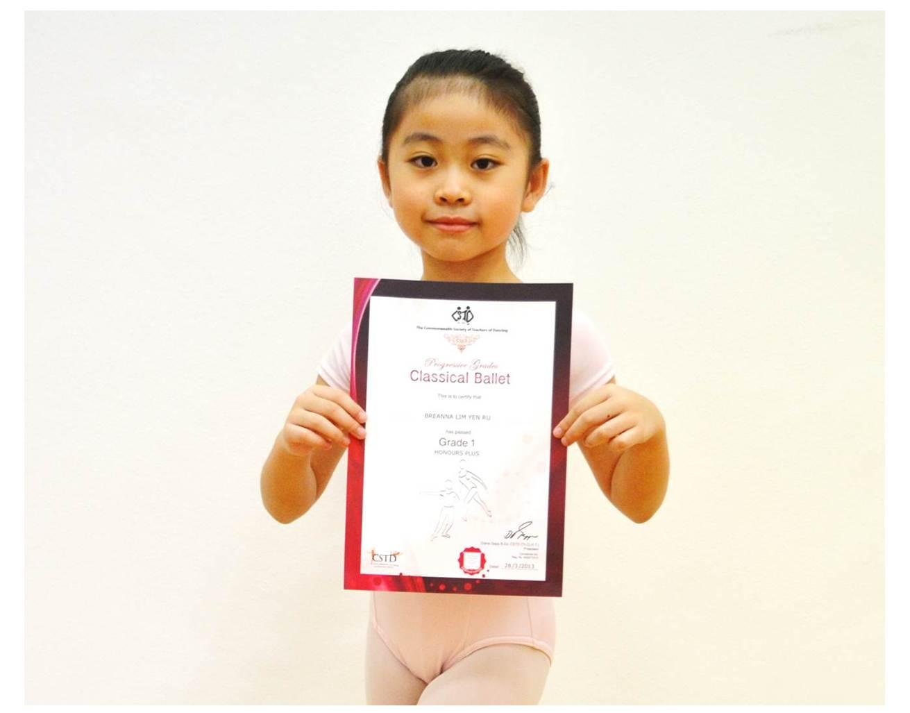 CSTD Ballet Examinations   Taneo Dance Academy